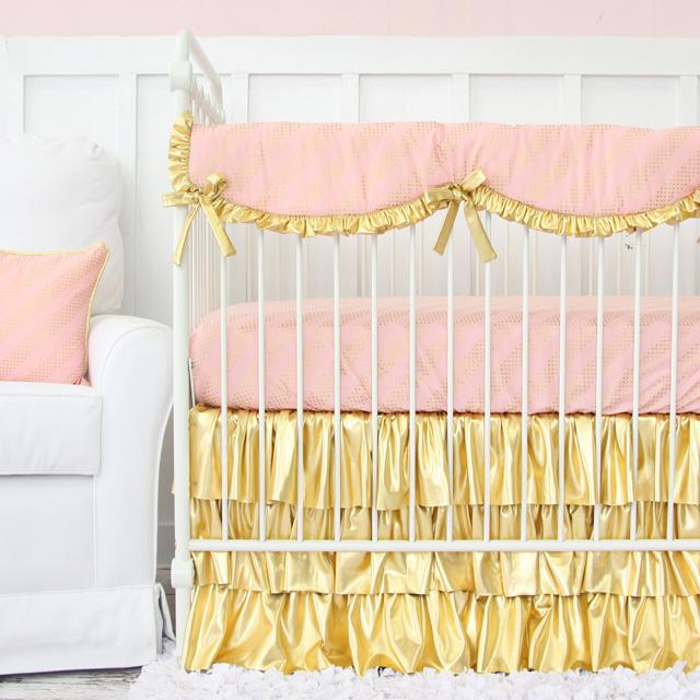 Gold Baby Bedding from Caden Lane