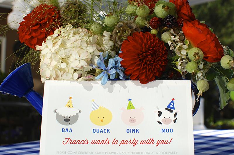 Barnyard Crew Birthday Invitation from Minted