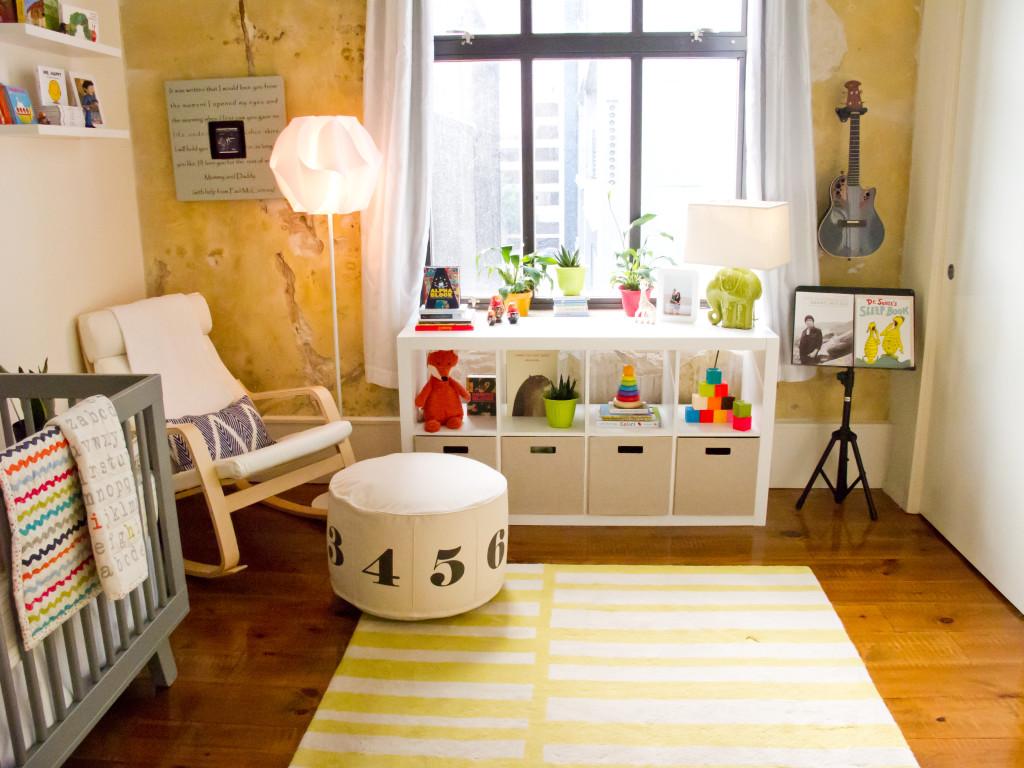 Colorful, Music Inspired Nursery