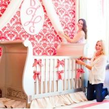 Little Crown Interiors Nursery Design