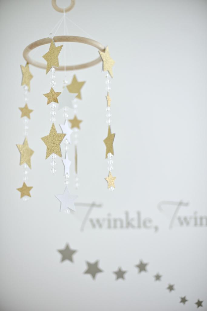 Gold Star Nursery Mobile