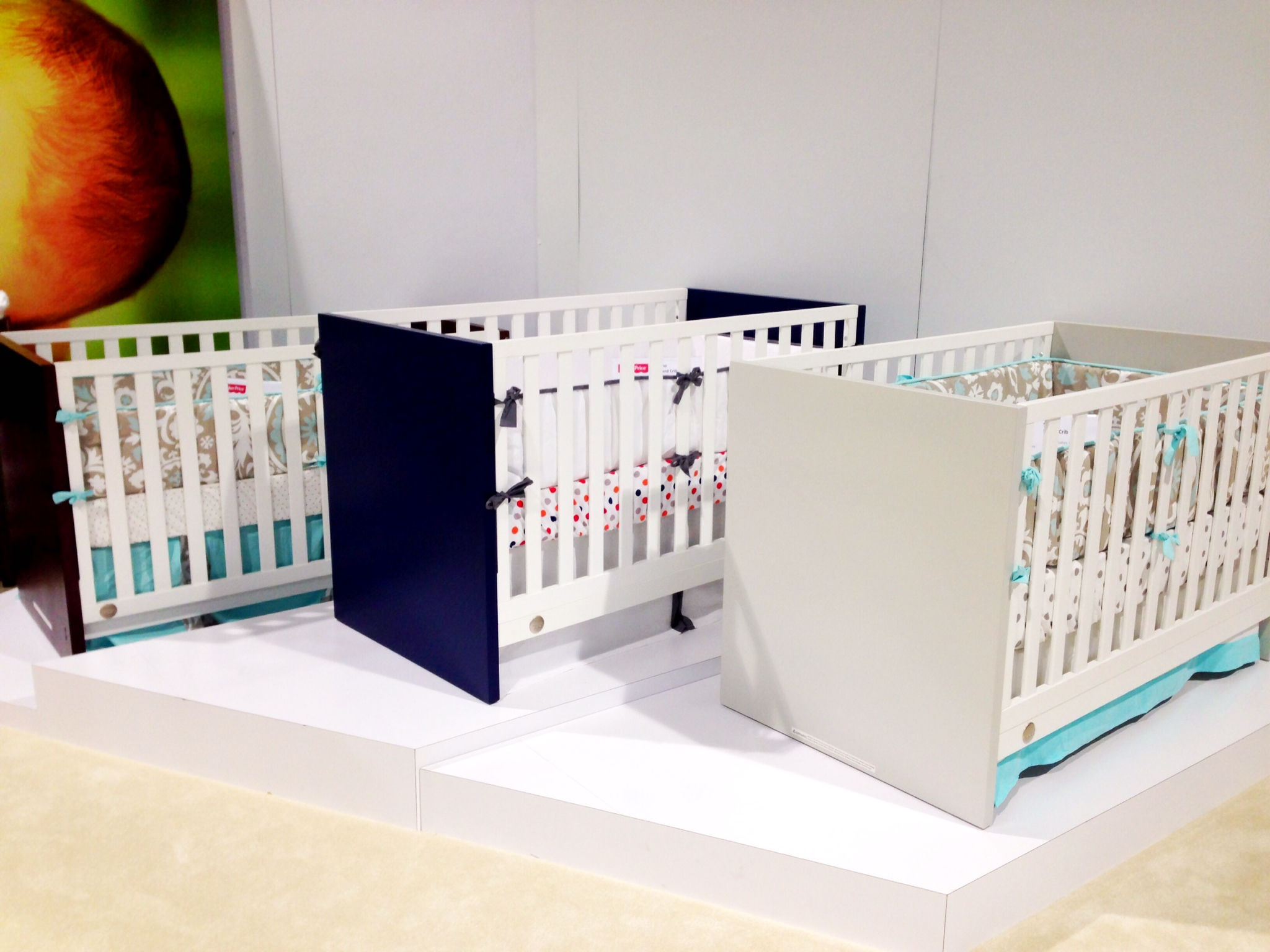Modern Cribs from Bivionia with Low Price Point
