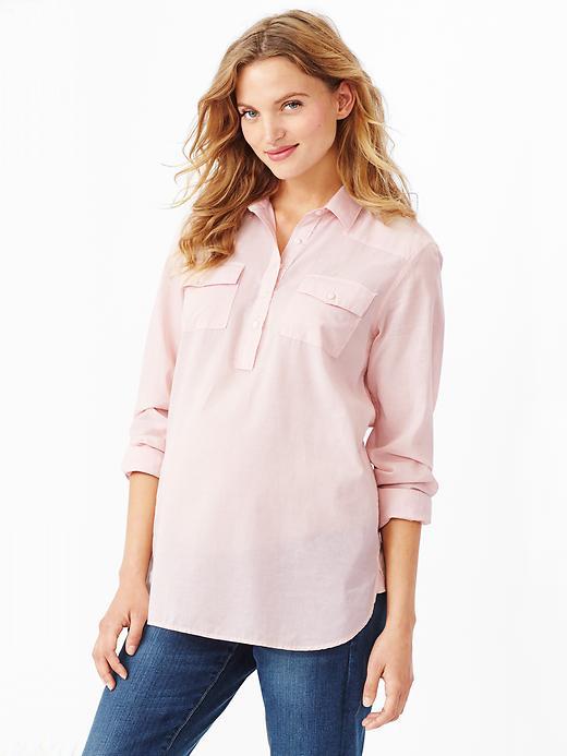 Maternity Boyfriend Shirt from Gap