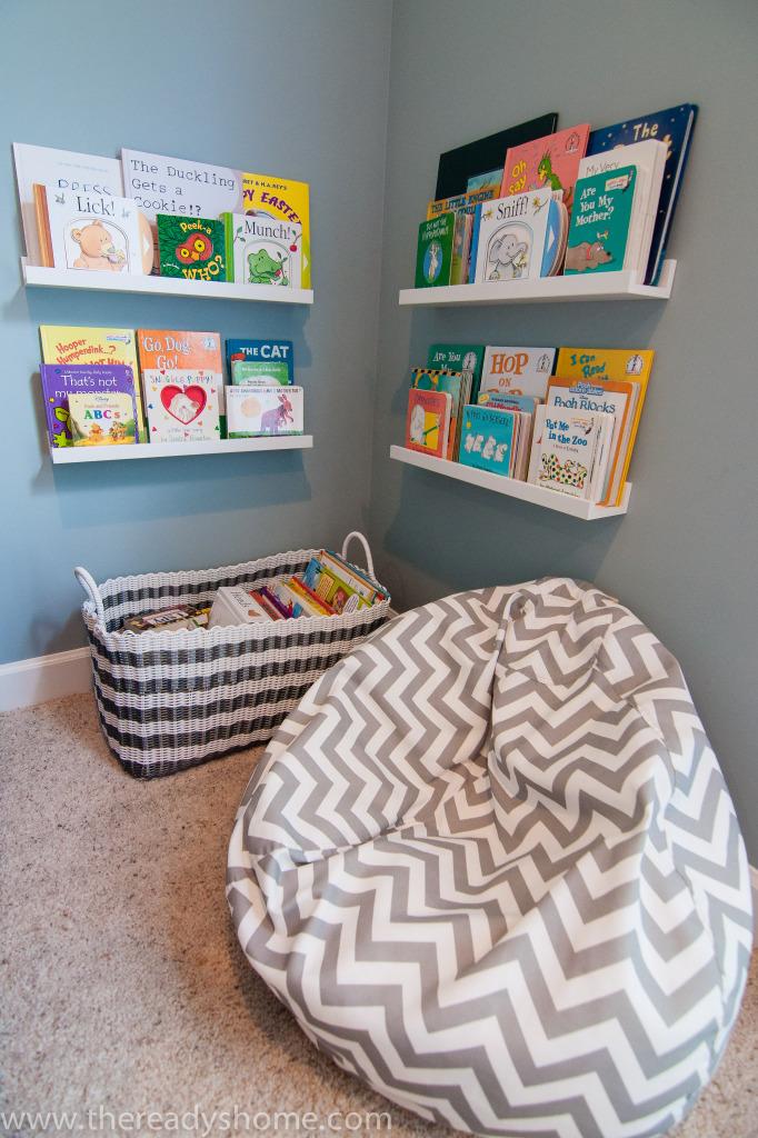 Living Room Turned Playroom Project Nursery