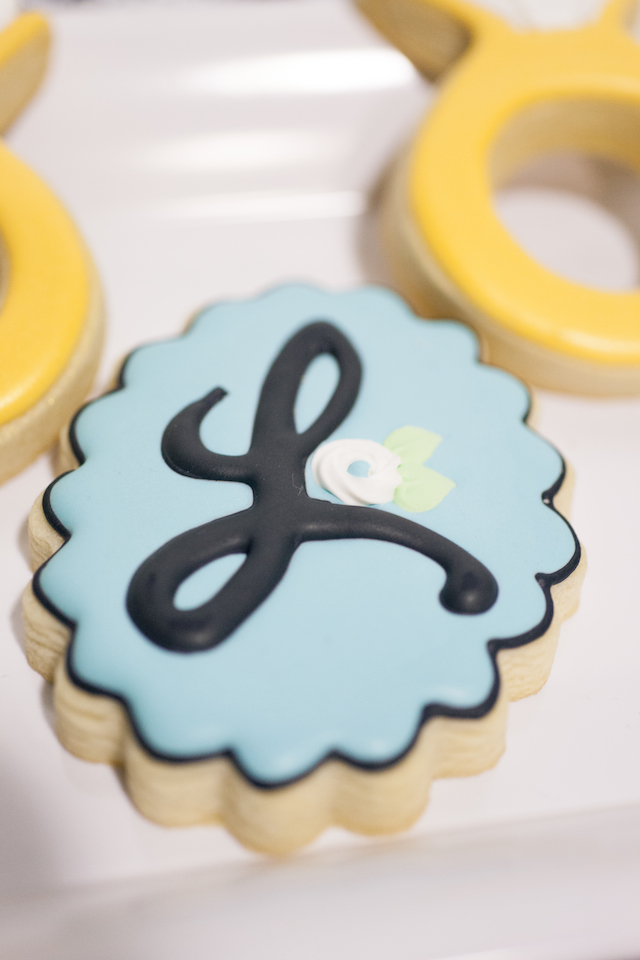 First Birthday Party Cookies - Project Nursery