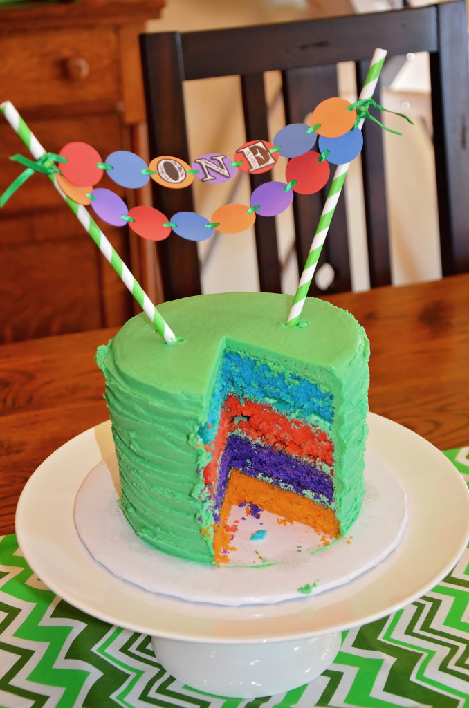 Teenage Mutant Ninja Turtle Layer Cake