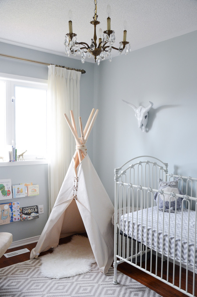 Elegant Tribal-Themed Nursery with Neutral Teepee - Project Nursery