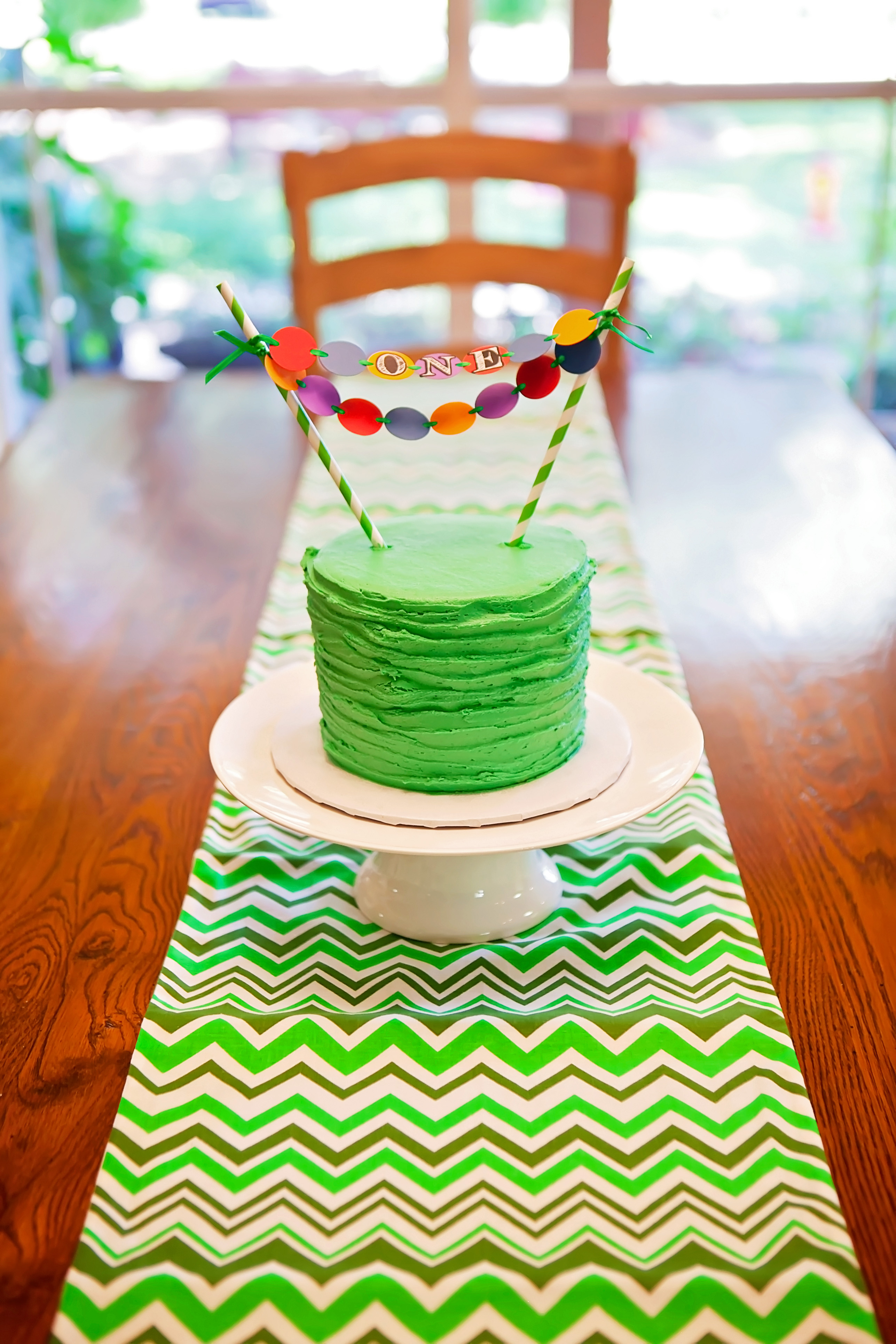 Teenage Mutant Ninja Turtle First Birthday Party
