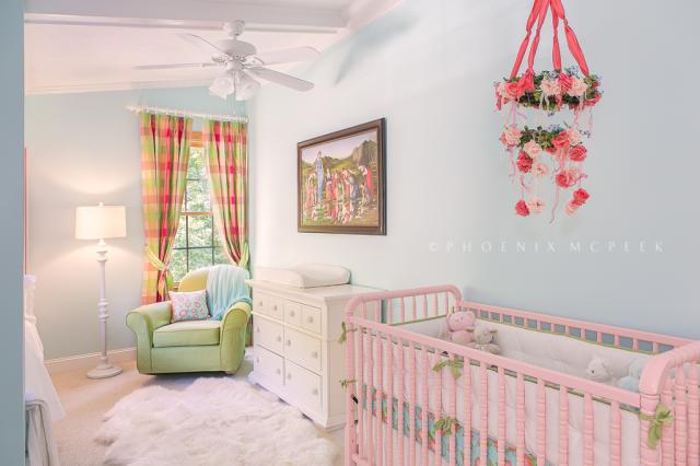 Readers Favorite Feminine Pastel Nursery Project Nursery