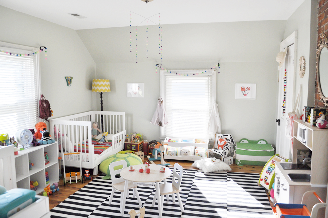 Colorful Nursery for Two