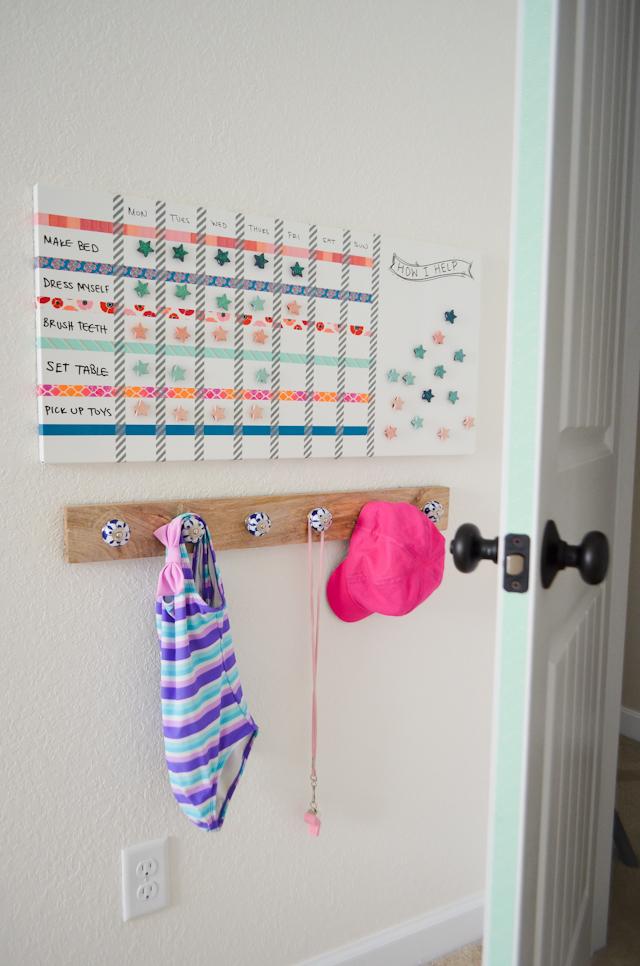 DIY Magnetic Chore Board