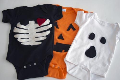 Easy halloween ideas project nursery diy halloween onesies solutioingenieria Image collections