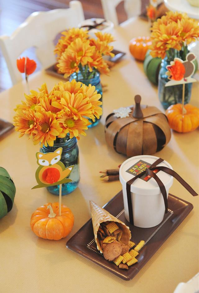 Kids' Thanksgiving Table - Project Nursery