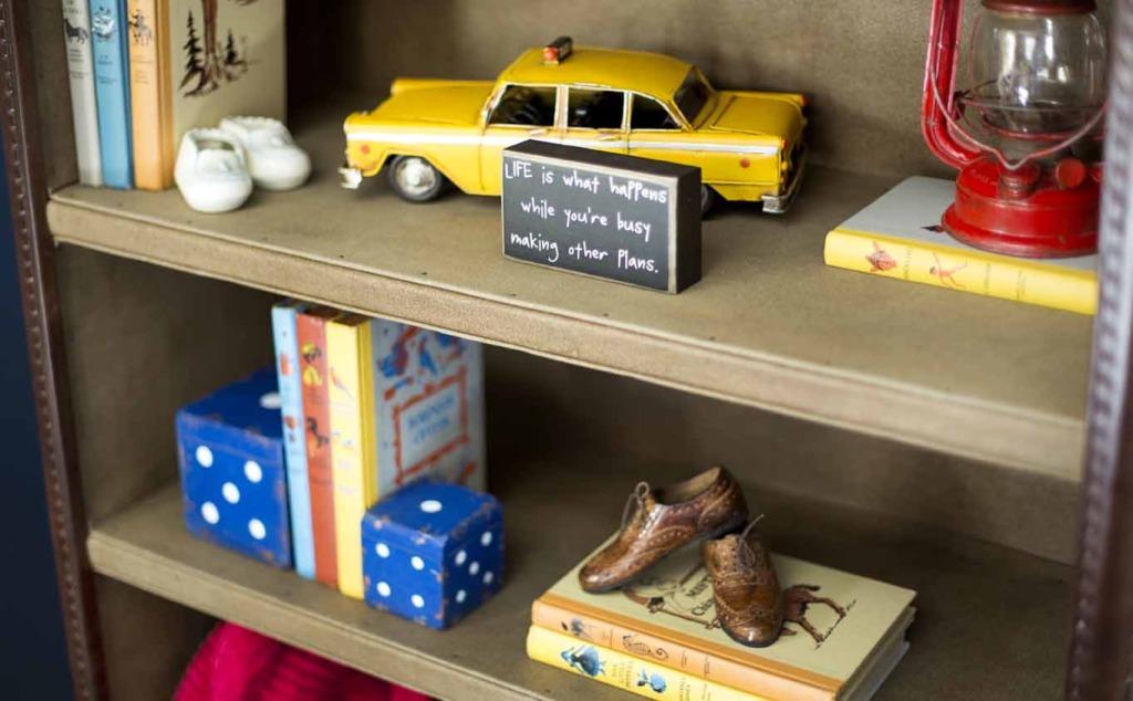 Vintage Americana Nursery Bookcase