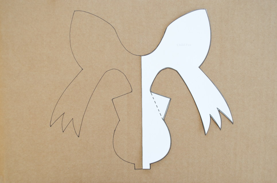 DIY Cardboard Animal Masks for Halloween Project Nursery – Free Mask Templates