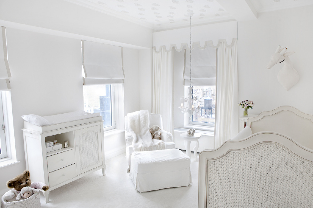 Ivanka Trump's All White Nursery
