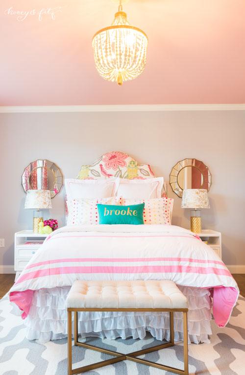 Brooke S Pink Sky Big Girl Room Project Nursery