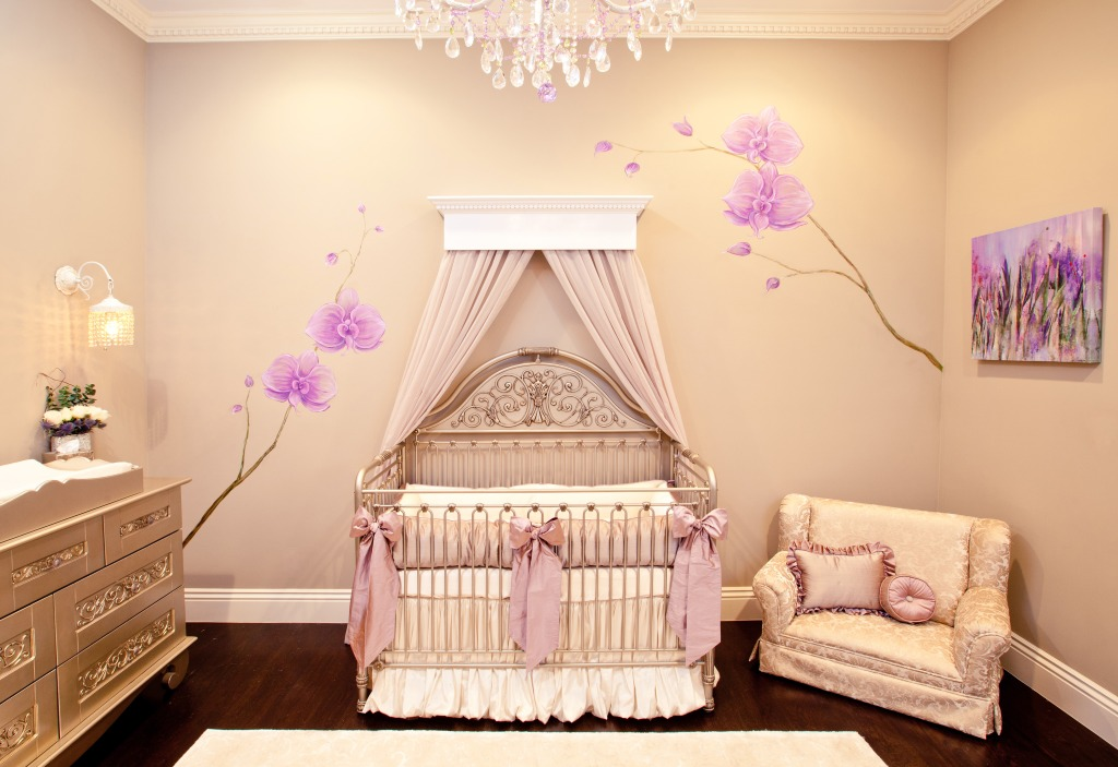 Purple Princess Nursery - Project Nursery