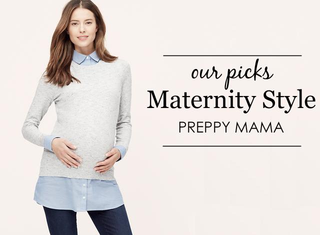 preppy-maternity-style