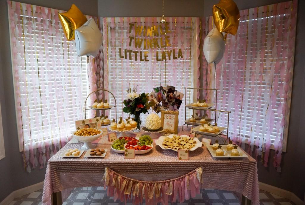 Layla S Pink Amp Gold Twinkle Twinkle Little Star 1st