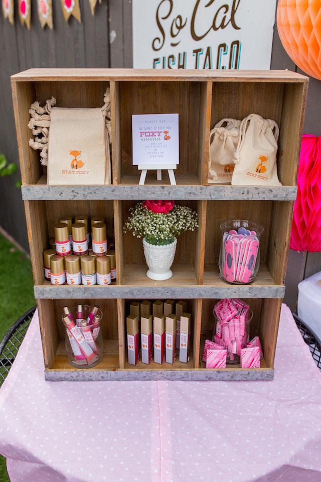 Baby Shower Beauty Bar Favors - Project Nursery