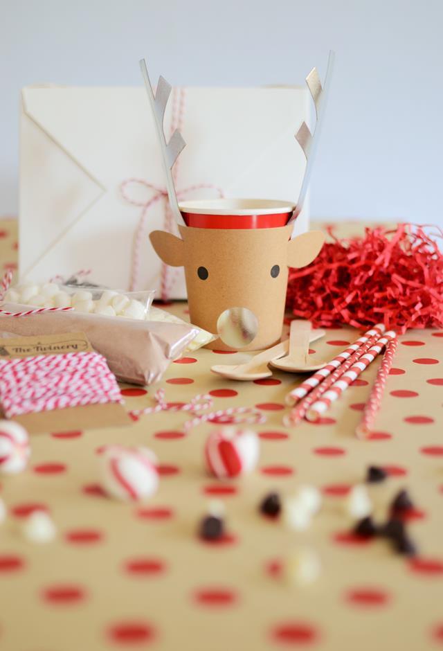Reindeer Party Cup