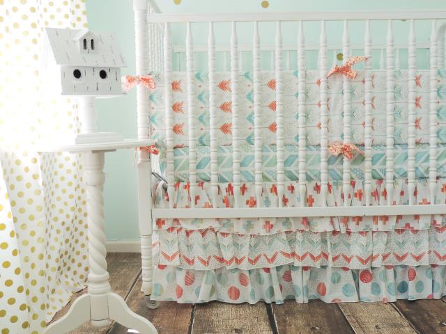 Tushies and Tantrums Crib Bedding