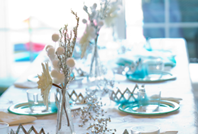 Frozen Party Tablescape