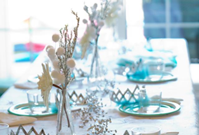 Frozen Party Tablescape
