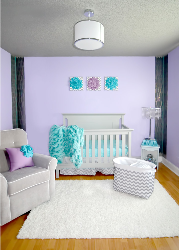 Purple Paint Colors For Nursery
