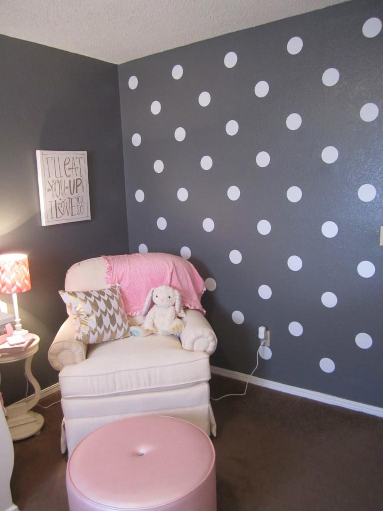 Polka Dot Decal Wall