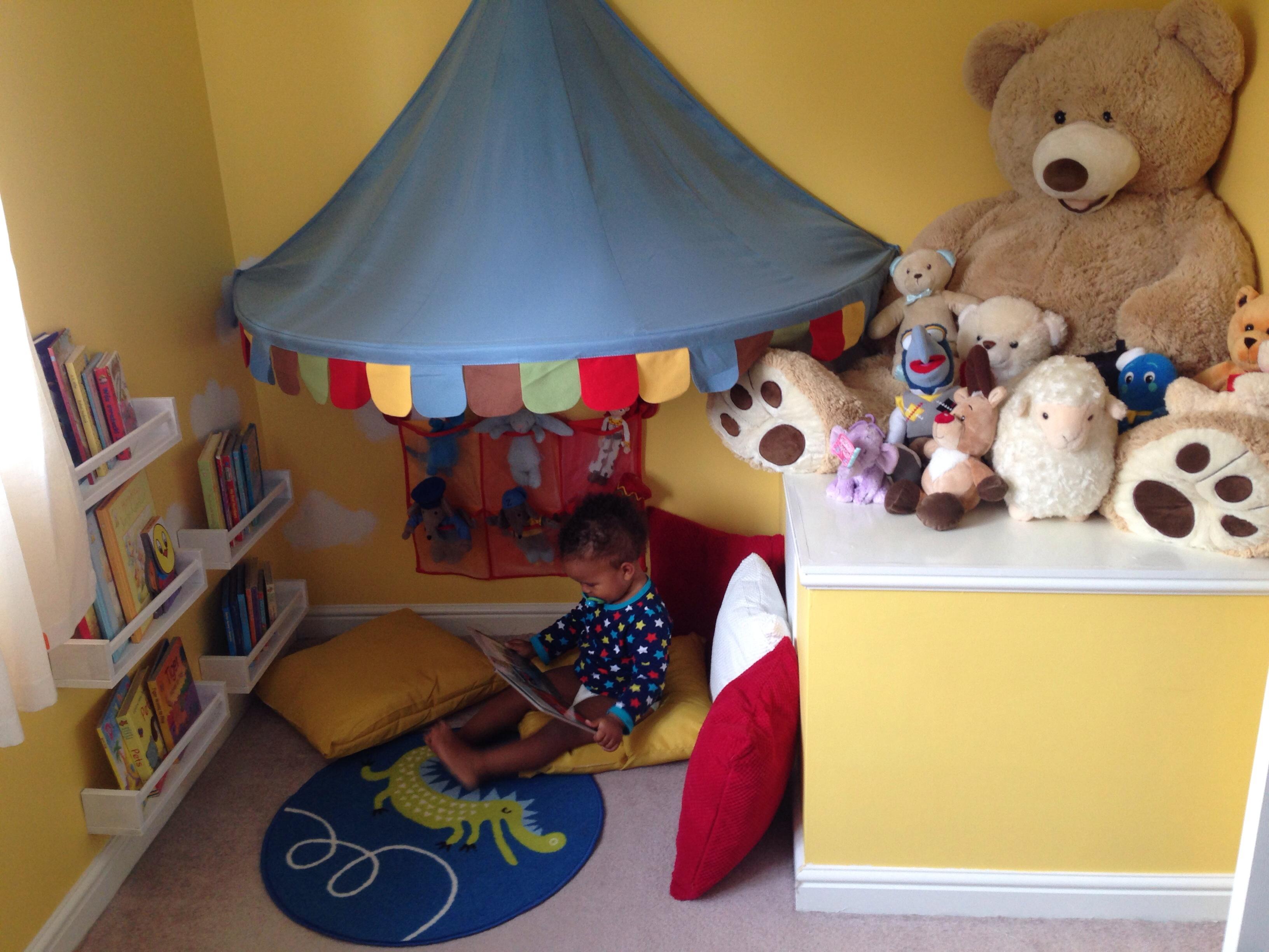 Kids Bedroom Reading Corner junior's reading corner - project nursery