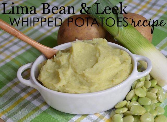 Lima and Leek Whipped Potatoes Recipe - Project Nursery