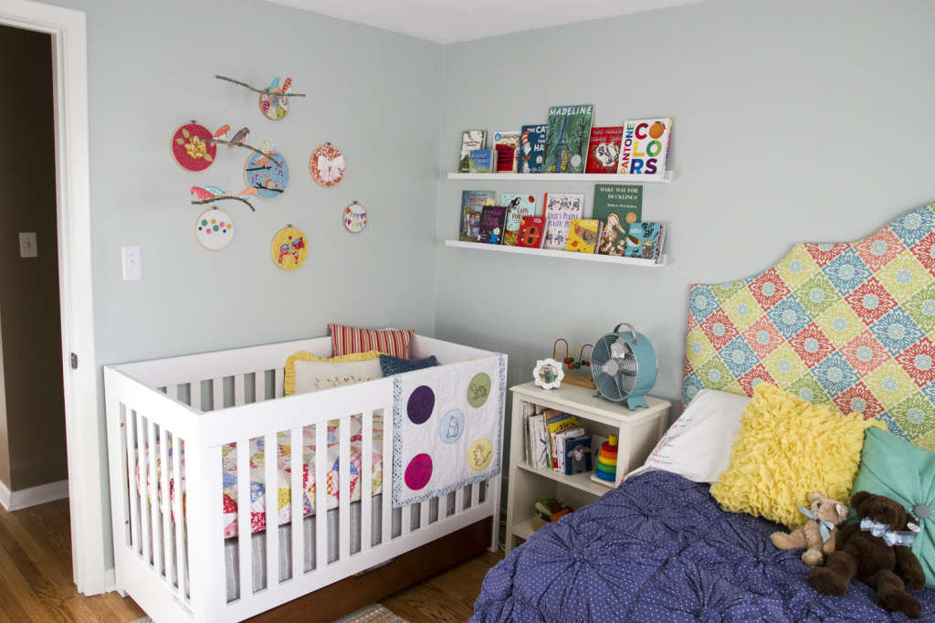 Colorful Whimsical Nursery