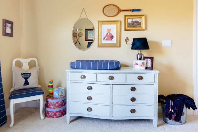 Preppy Nursery Gallery Wall - Project Nursery