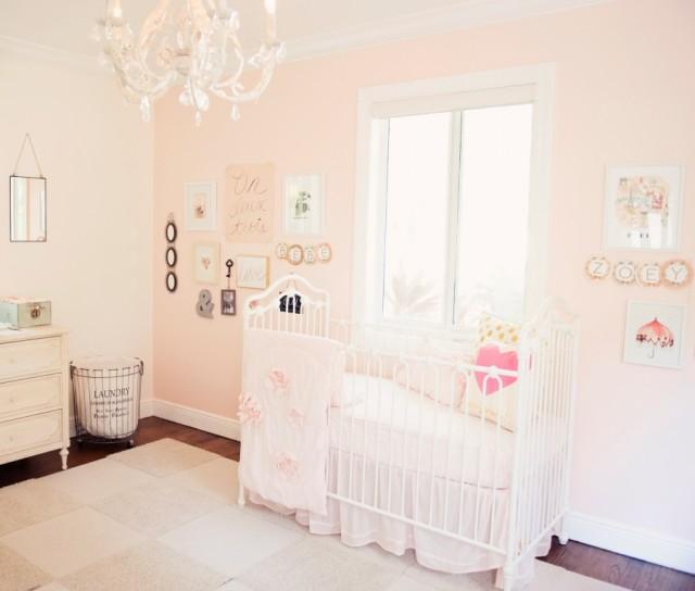 Soft Pink Shabby Chic Nursery - Project Nursery