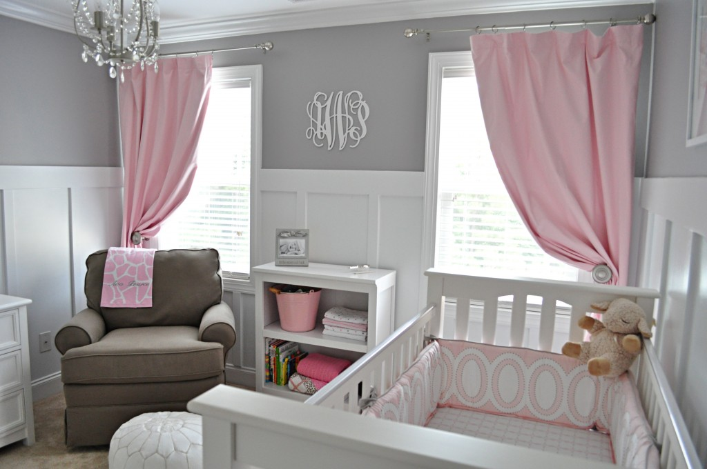 Clic Gray And Pink Nursery Project