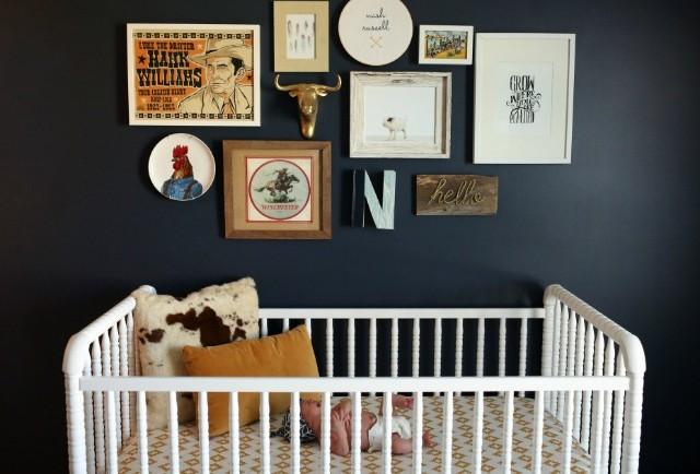 Farm Nursery Gallery Wall - Project Nursery