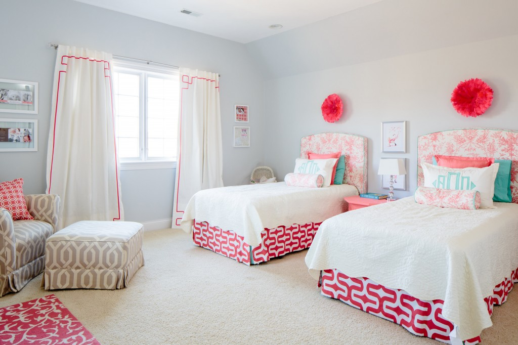 Pink And Baby Blue Room