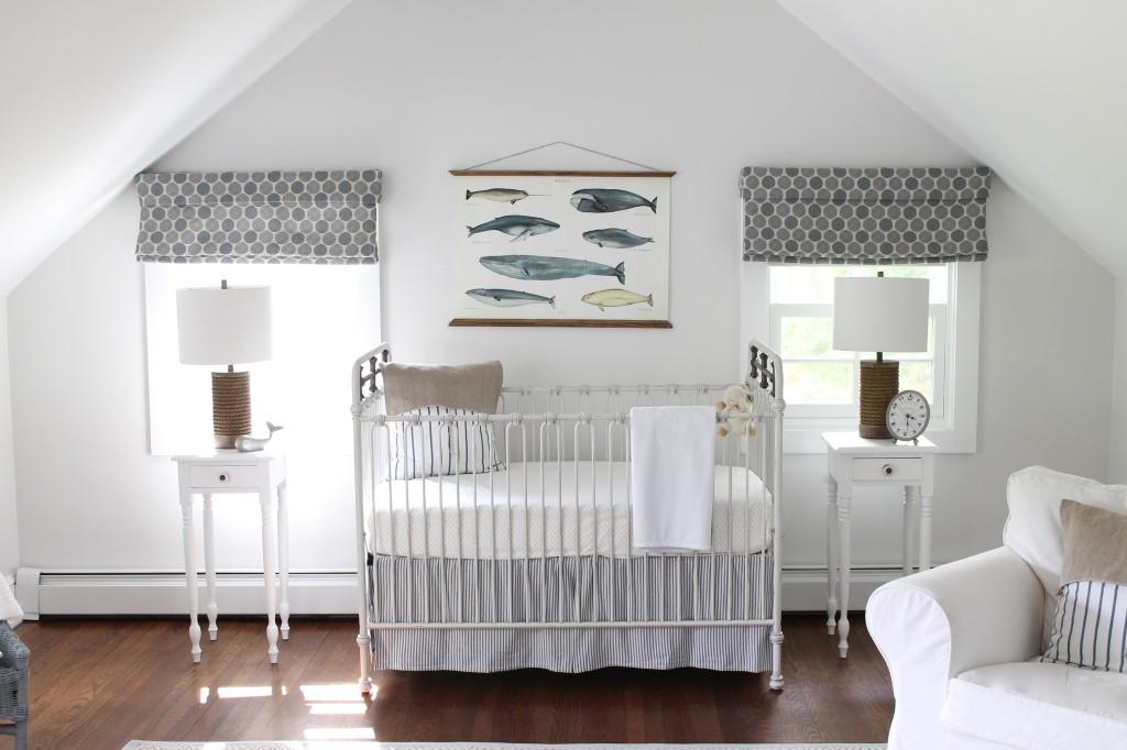 Stunning White Nautical Inspired Nursery Project Nursery