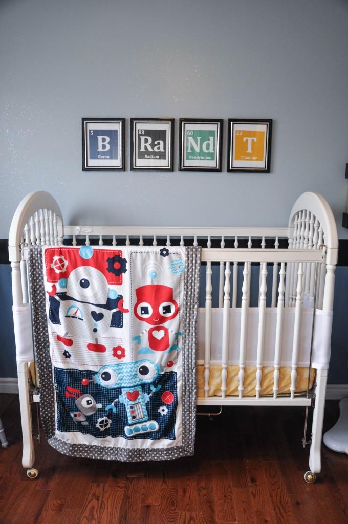 Everything Designish Baby Boy S Nursery: Science Themed Nursery