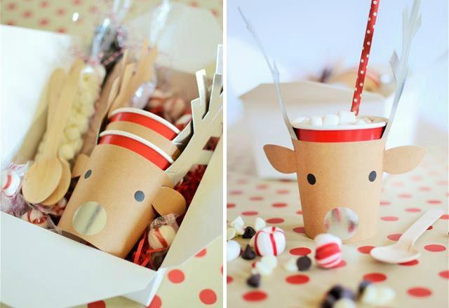Reindeer Hot Cocoa Kit