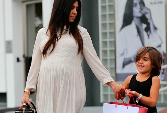Kourtney Kardashian's Maternity Style