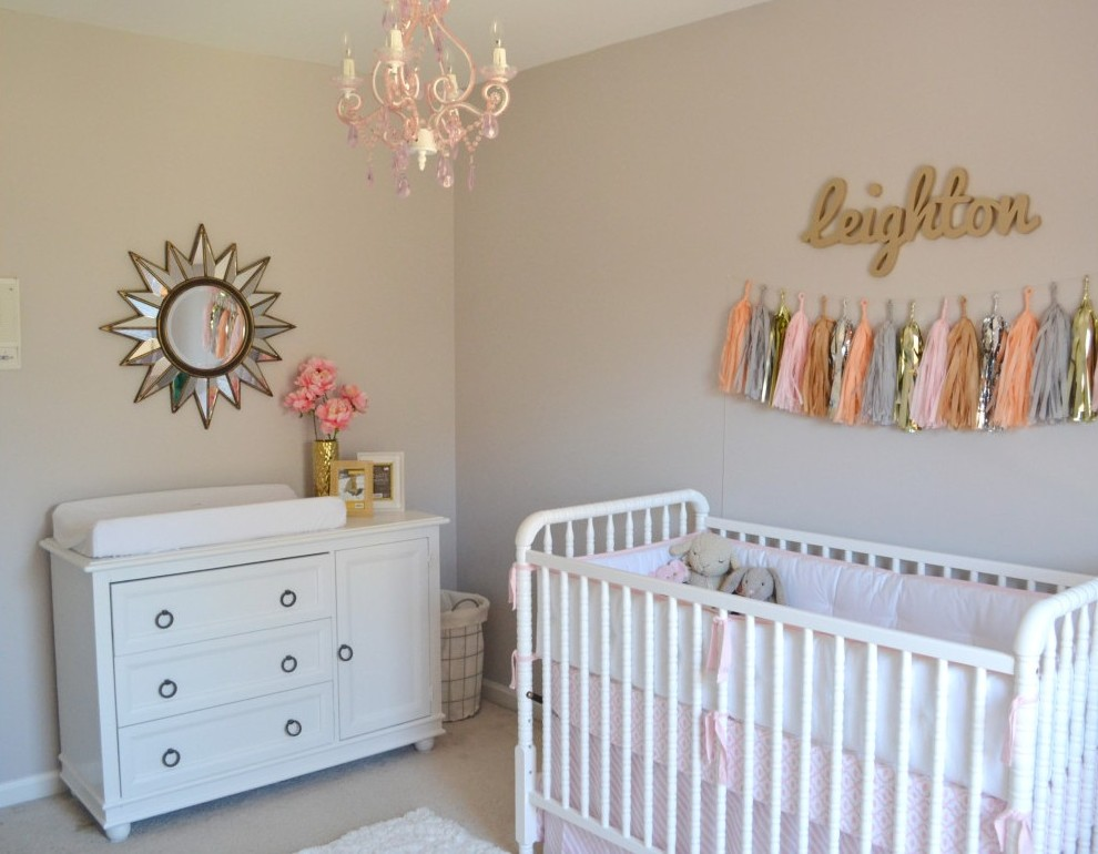 Most viewed nurseries of 2014 project nursery - Ideas para decorar habitacion bebe ...