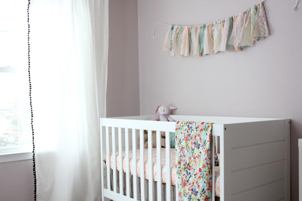 Soft and Feminine Girl's Nursery - Project Nursery