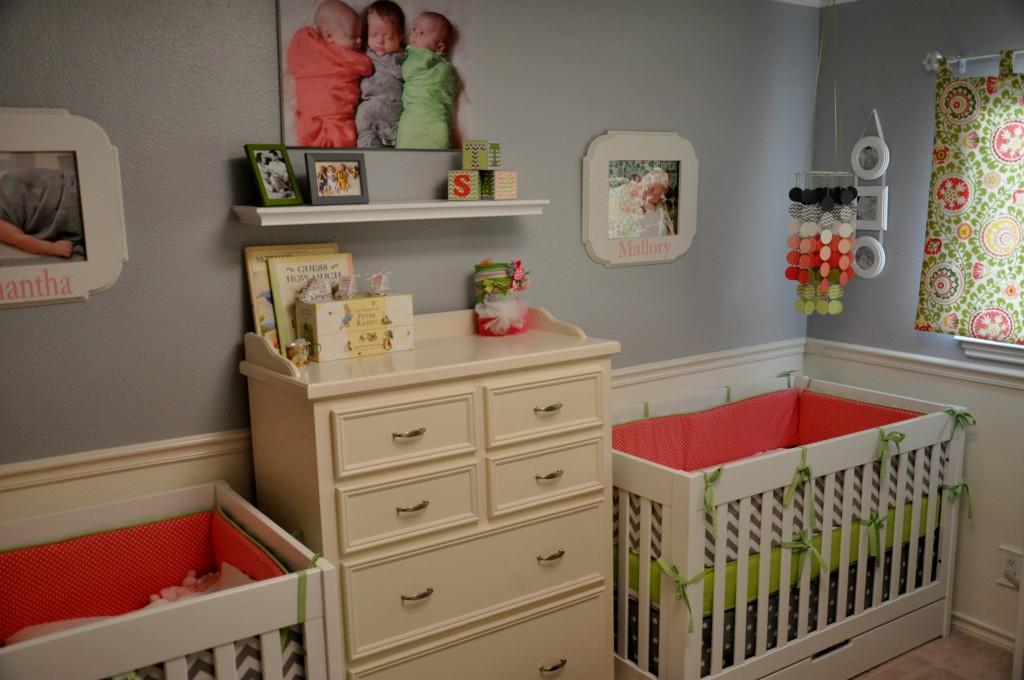 Triplet Girls Nursery - Project Nursery