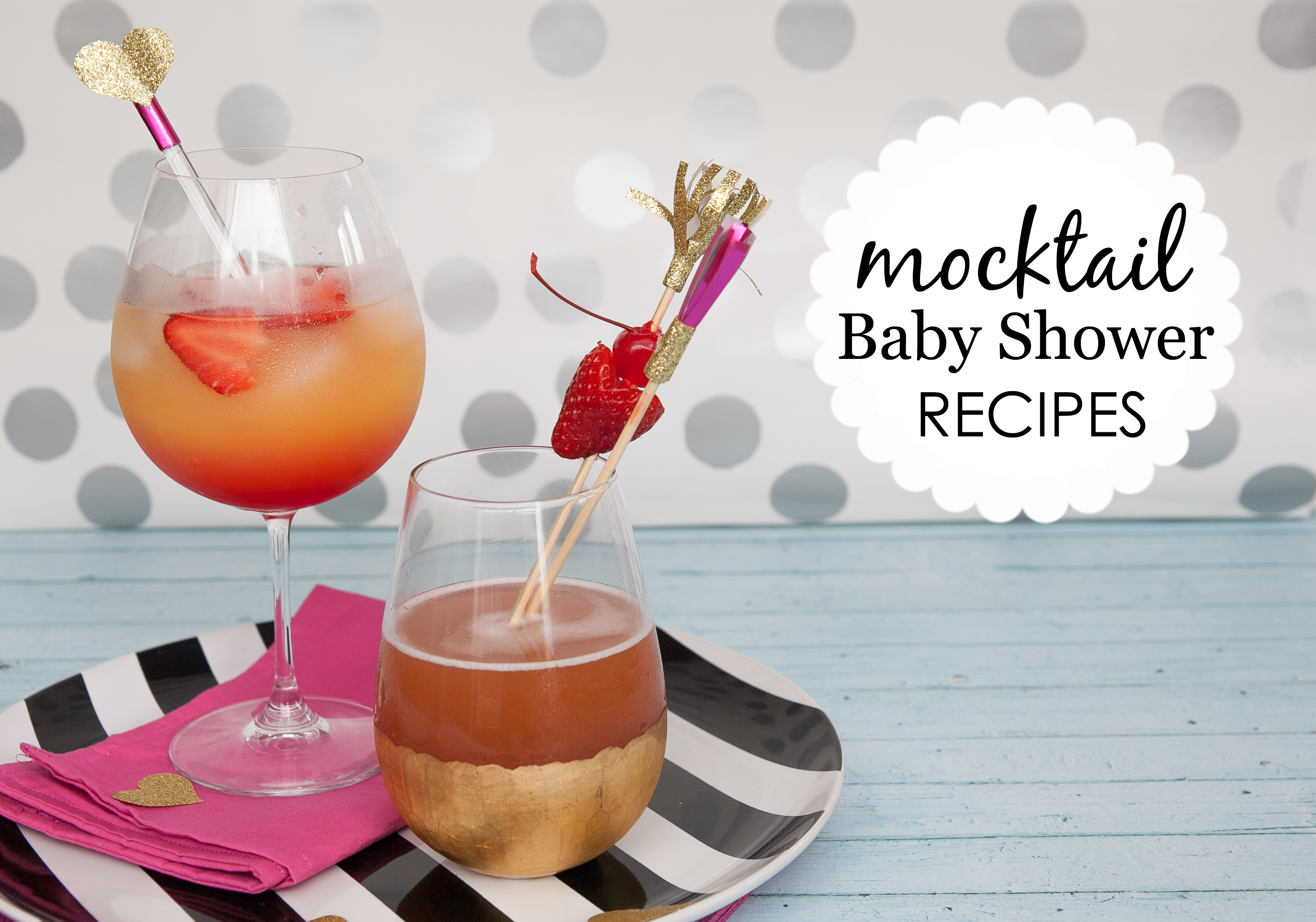 Baby Shower Mocktails