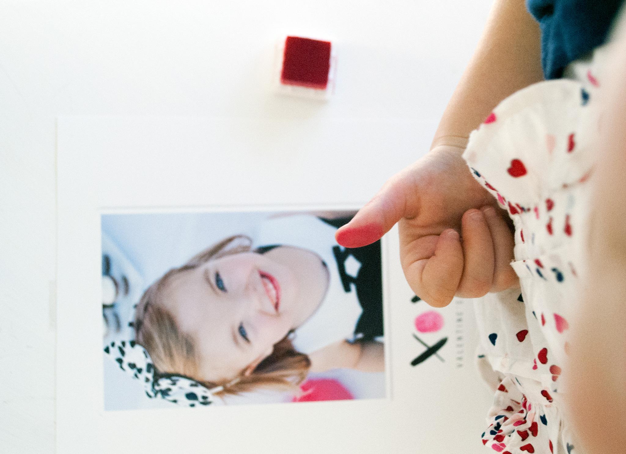 Valentine's Day Thumbprint Craft