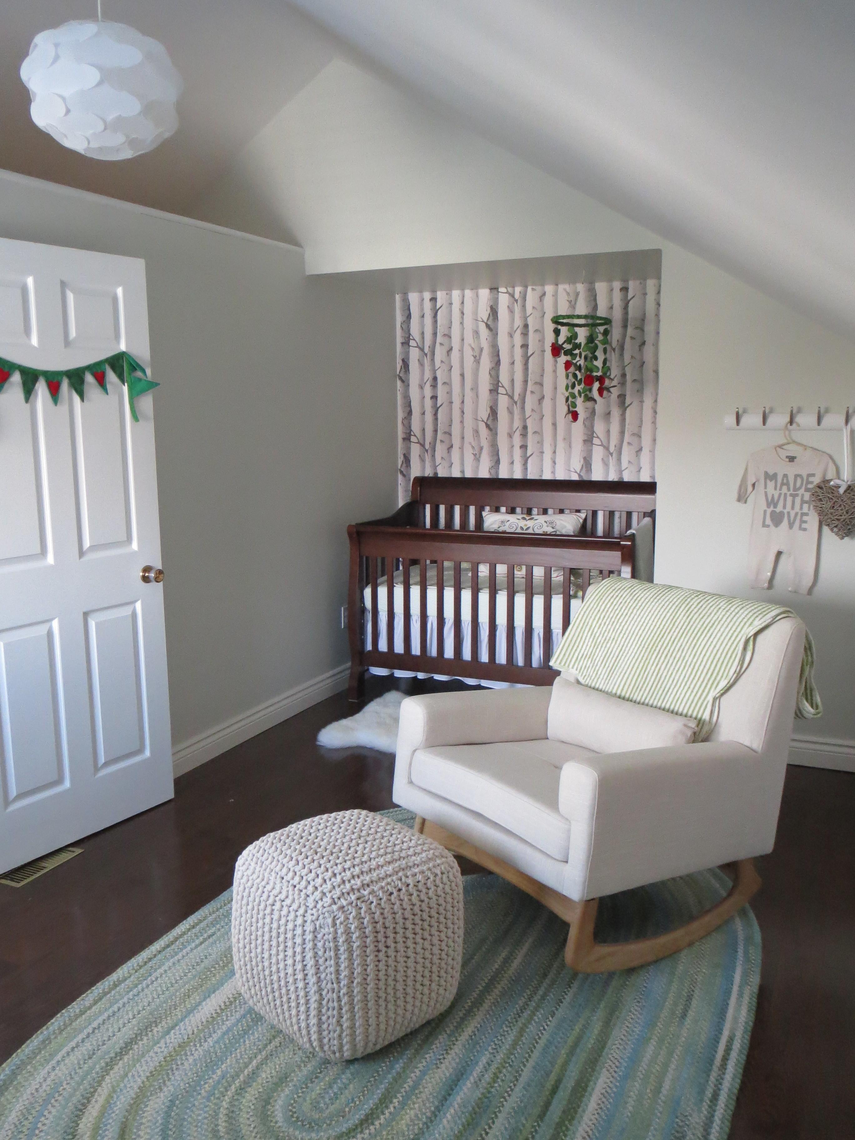 Neutral Woodland Theme Nursery