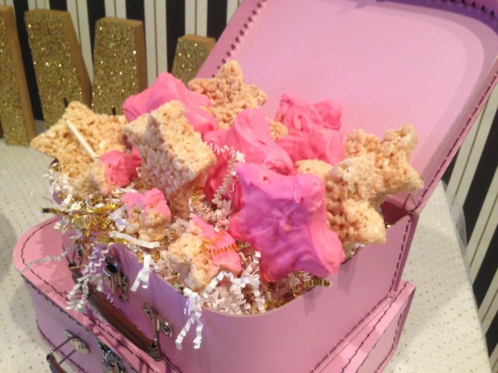 Star Rice Krispie Treats for this Twinkle Twinkle Little Star Birthday